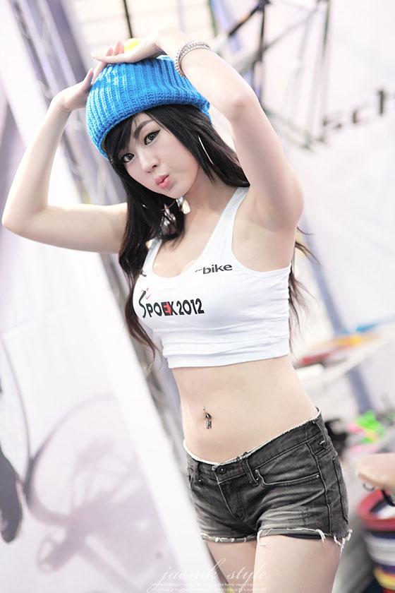 Hwang Mi Hee SPOEX 2012