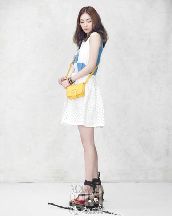 Lee Yeon Hee Korean Vogue Girl