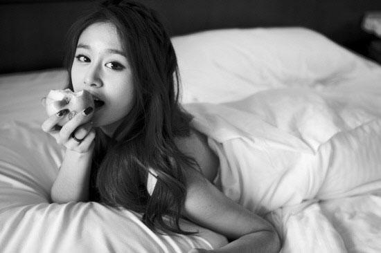 Korean girl group T-ara Jiyeon