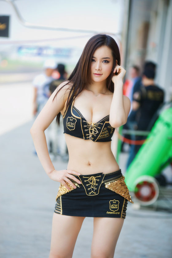 Im Ji Hye CJ Super Race 2012