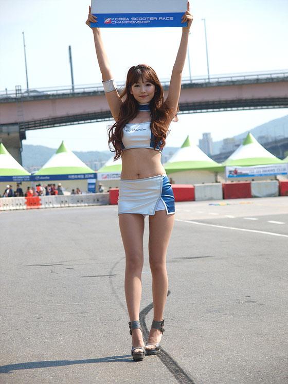 Lee Eun Hye Korea Scooter Race Championships 2012