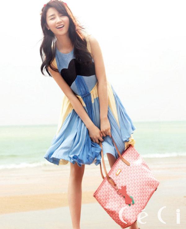 Park Ha Sun Ceci Magazine