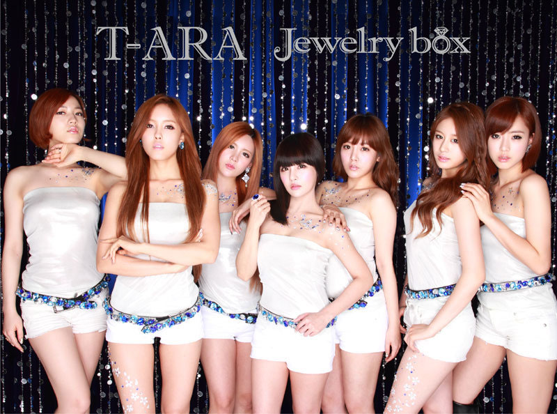 T-ara Jewelry Box Japanese album