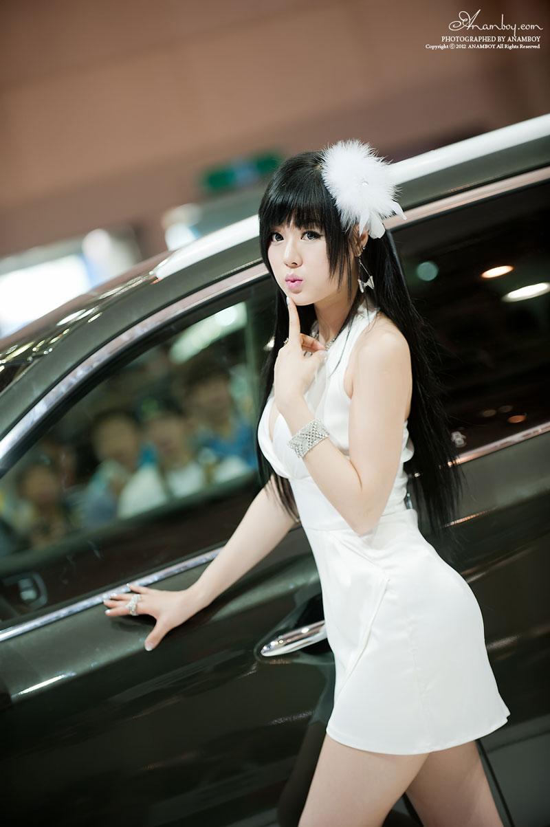 Hwang Mi Hee Busan Motor Show