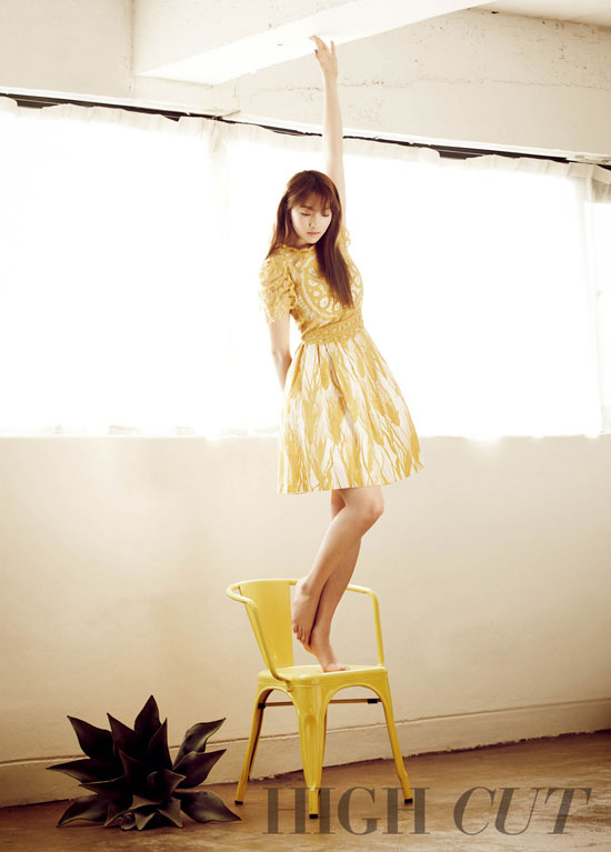 Kara Jiyoung High Cut Magazine