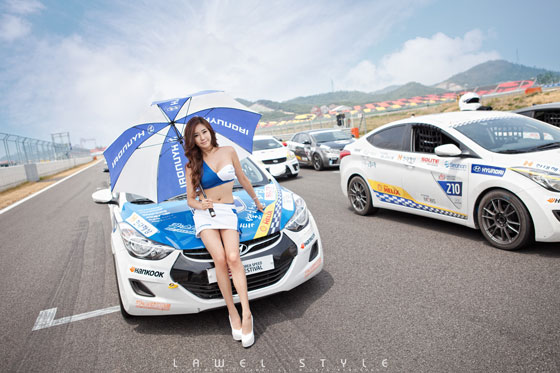 Kim Ha Yul Korea Speed Festival 2012