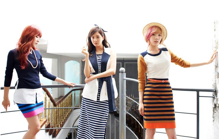 Girls Generation High Cut Bean Pole
