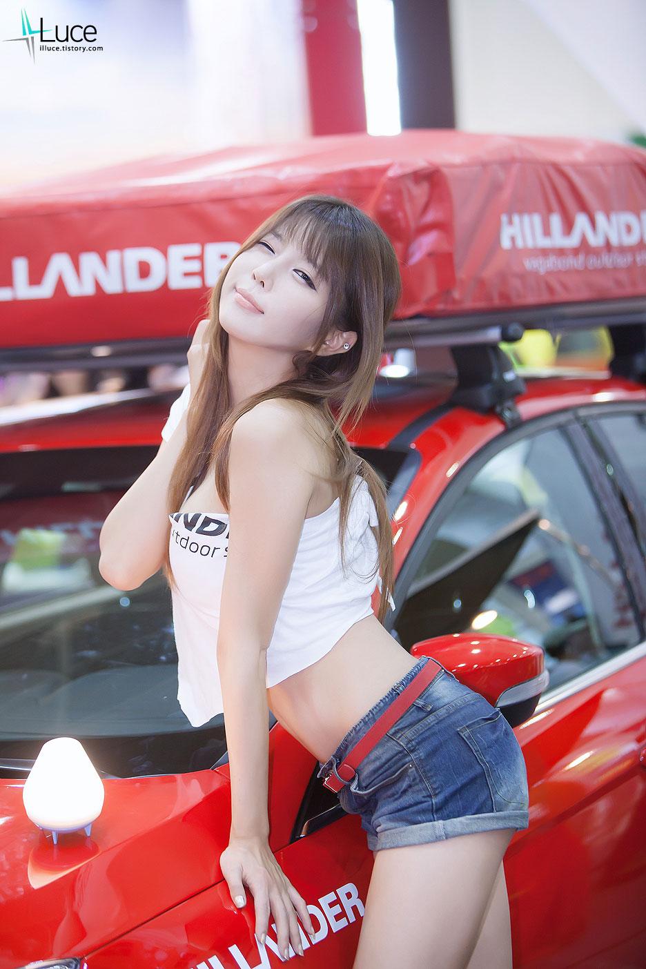 Heo Yun Mi Korea Autocamping Show 2012