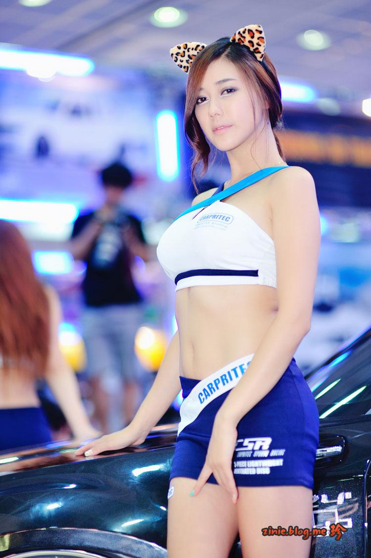 Kim Ha Yul Seoul Auto Salon 2012