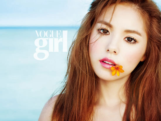 Min Hyo Rin Vogue Girl Magazine