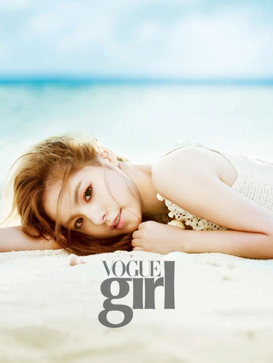 Min Hyo Rin Vogue Girl Magazine