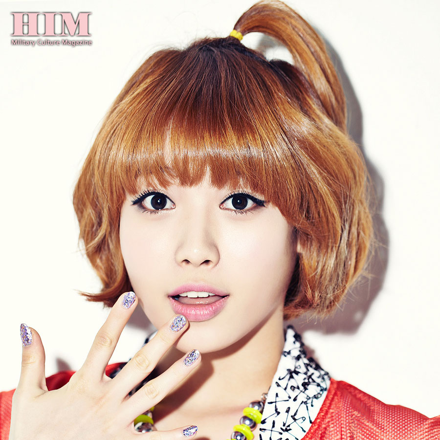 Girls Day Yura HIM Magazine