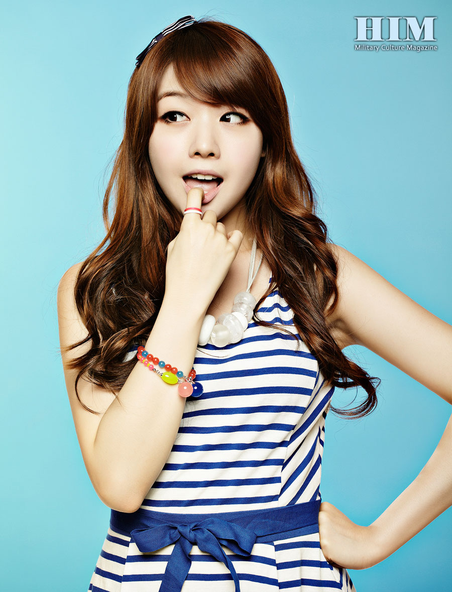 Girls Day Minah HIM Magazine