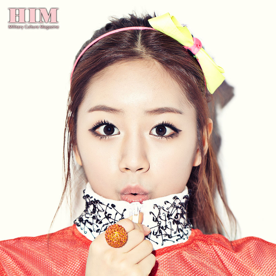 Girls Day Hyeri HIM Magazine