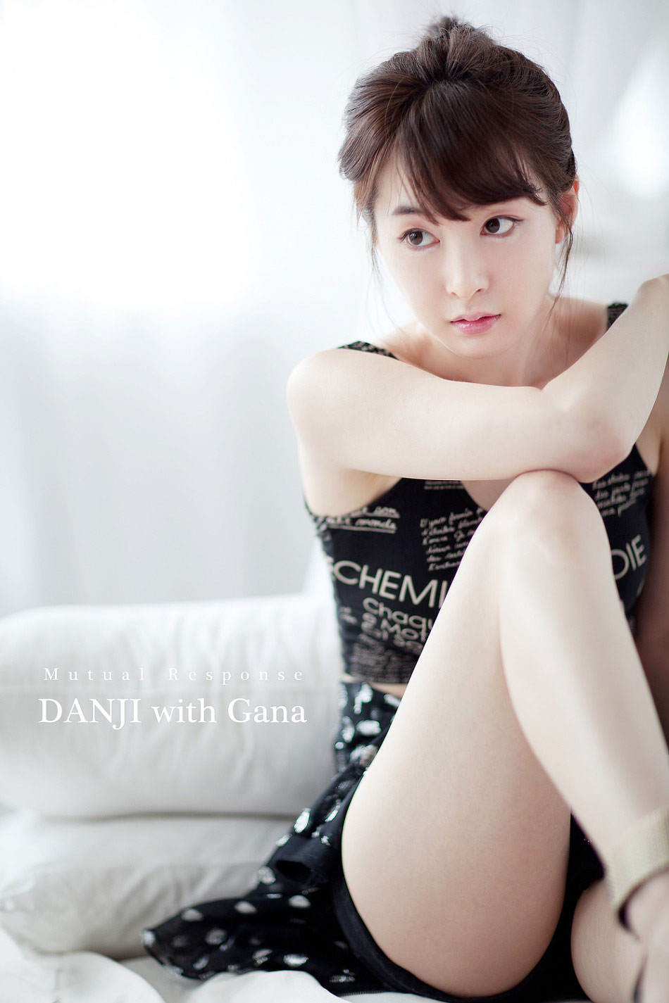 Korean model Lee Gana