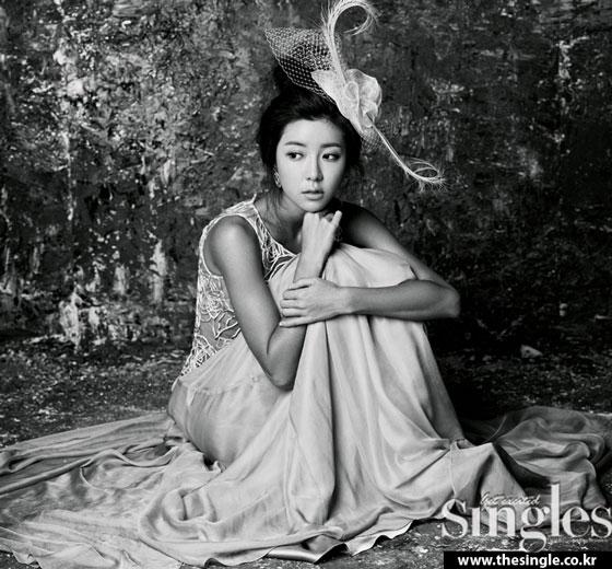 Park Han Byul Singles Magazine