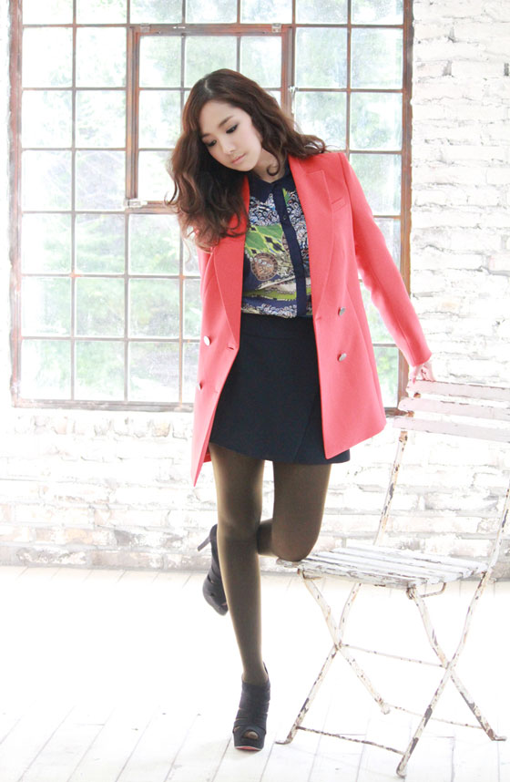 Park Min Young Compagna 2012 Fw