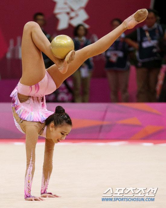 Son Yeon Jae London Olympic gymnastic