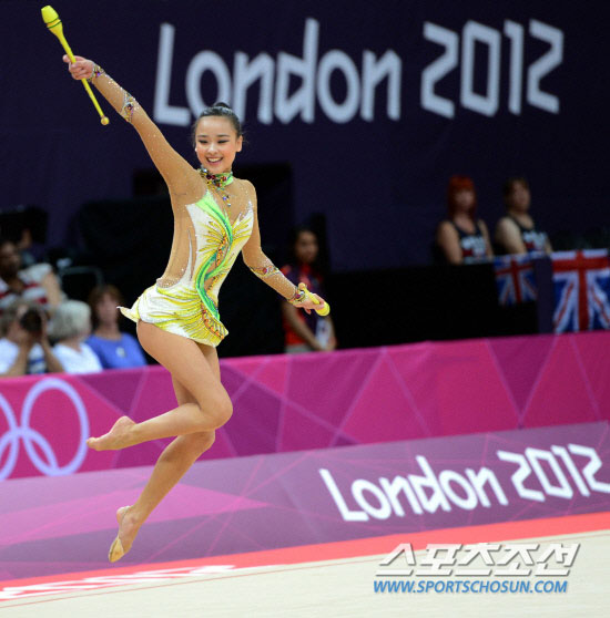 Son Yeon Jae London Olympic gymnastic
