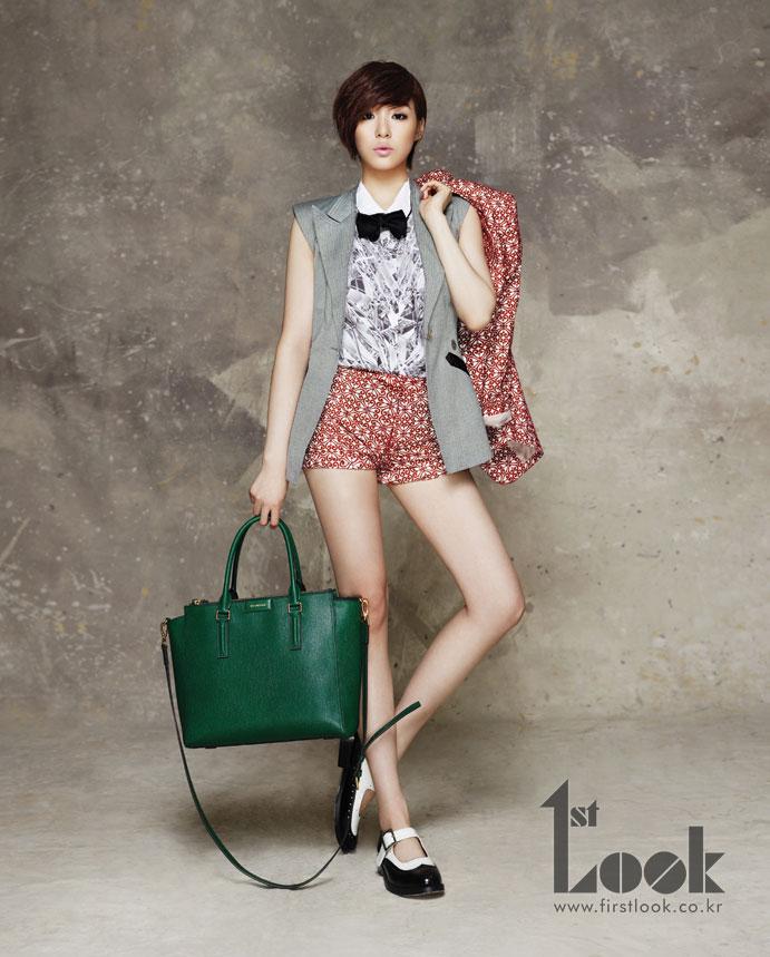 SNSD Tiffany 1st Look Magazine