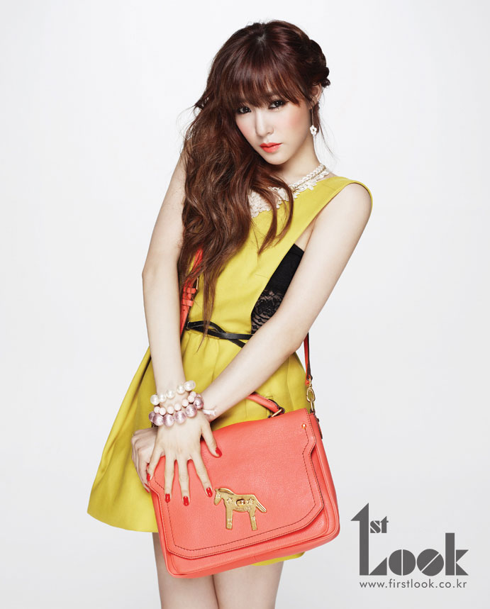 SNSD Tiffany 1st Look Magazine