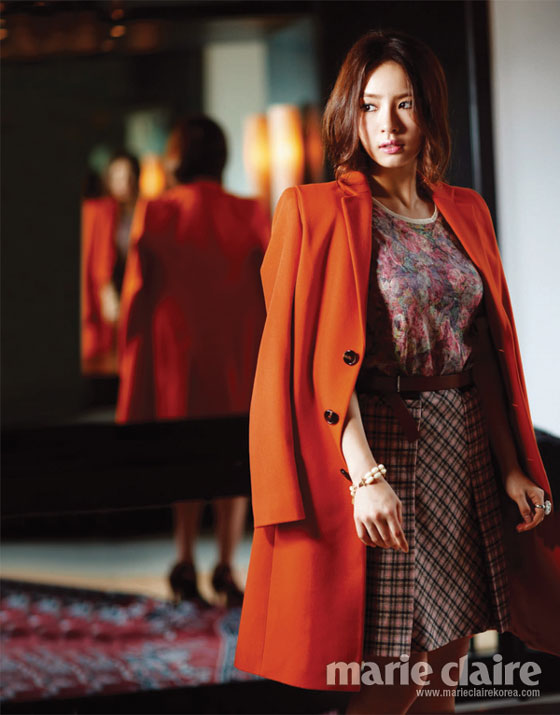 Shin Se Kyung Marie Claire Magazine