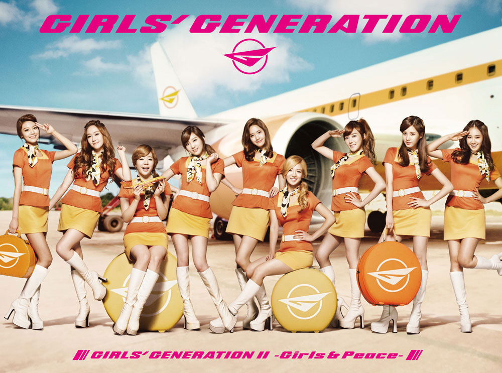 Girls Generation II Girls & Peace