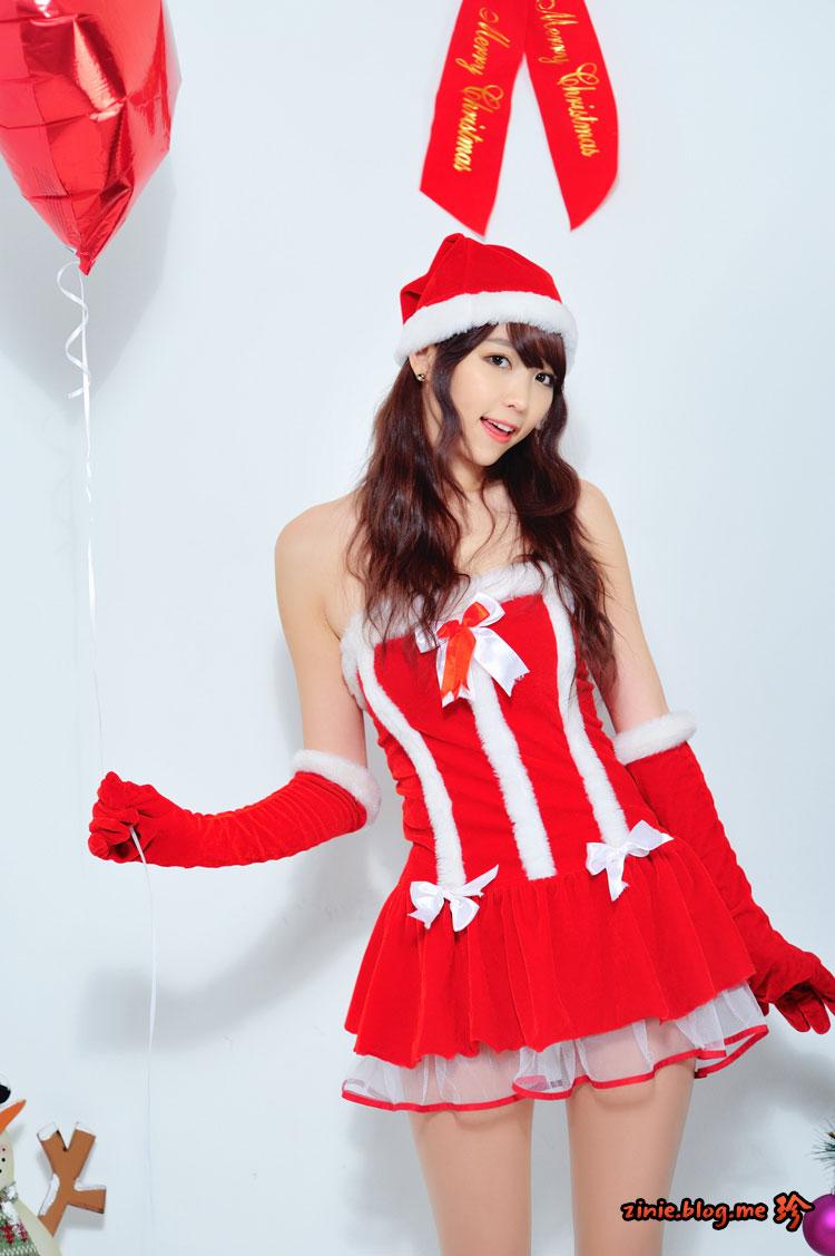 Lee Eun Hye Korean Christmas
