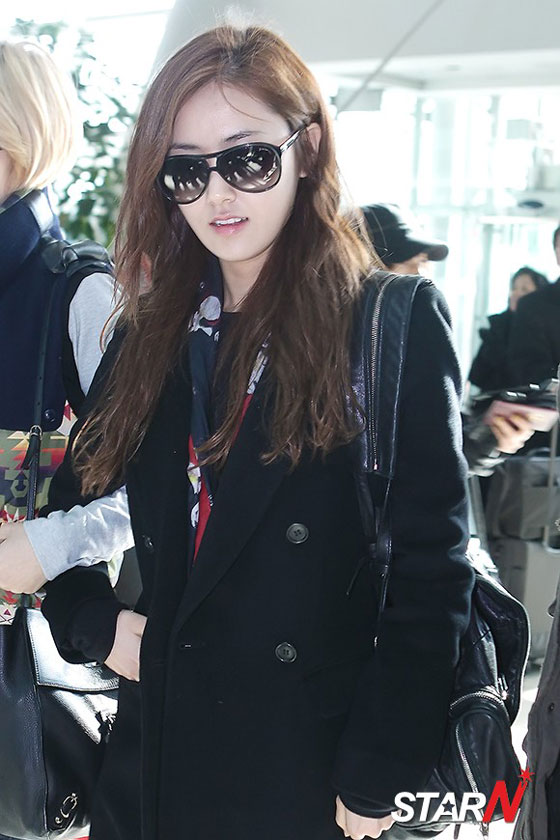 4minute Gayoon airport fashion