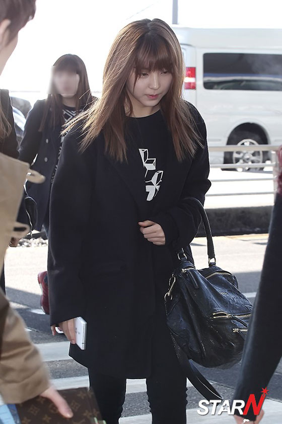 4minute Sohyun airport fashion