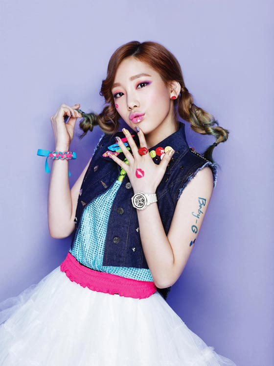 Girls Generation Taeyeon Baby G watches