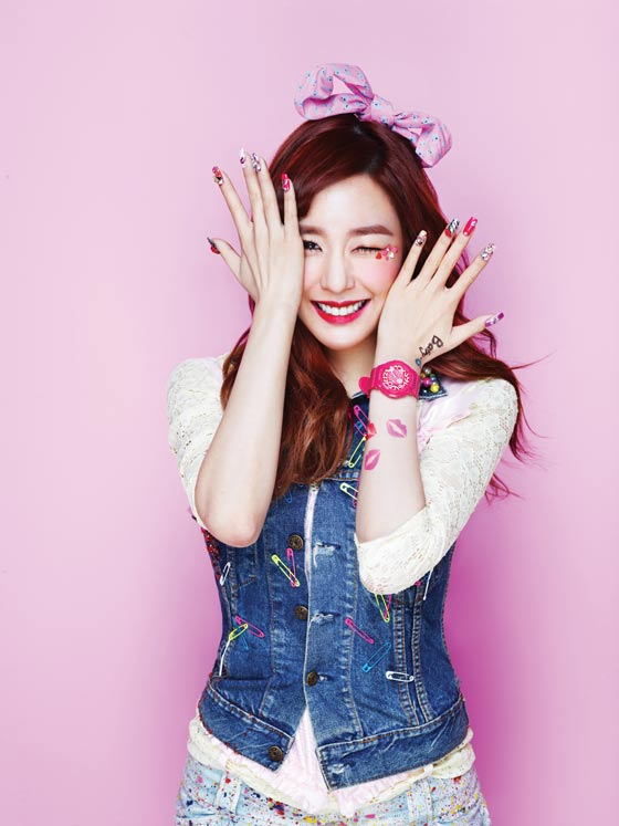 Girls Generation Tiffany Baby G watches