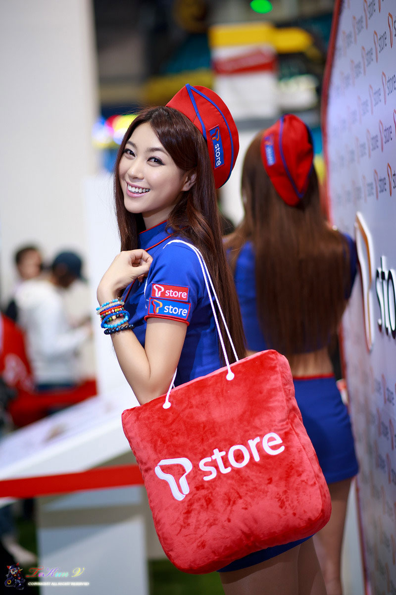 Korean model Ju Da Ha G-star 2012