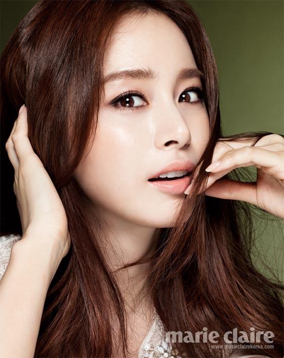 Kim Tae Hee Marie Claire Magazine