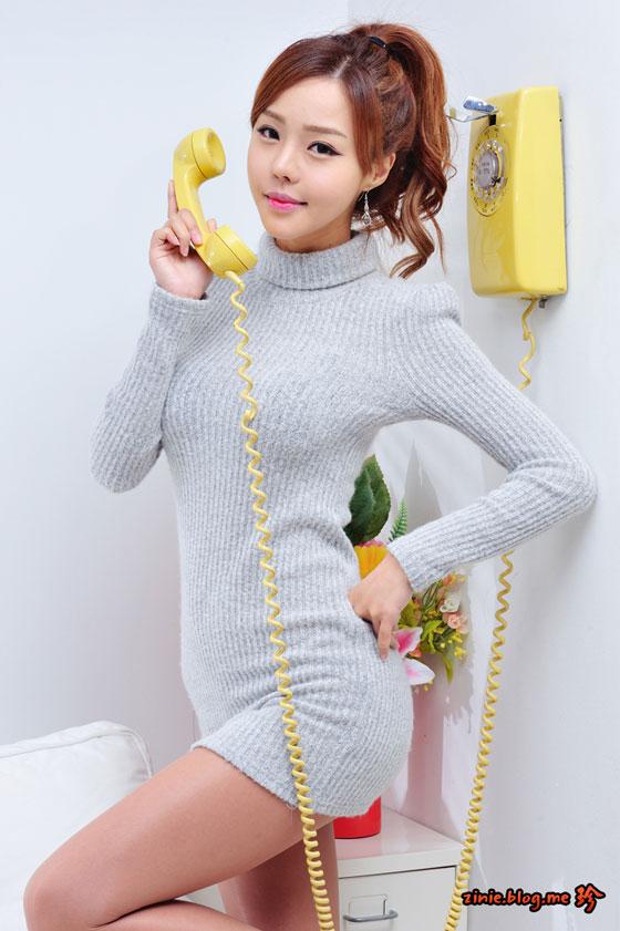 Korean model Seo Jina