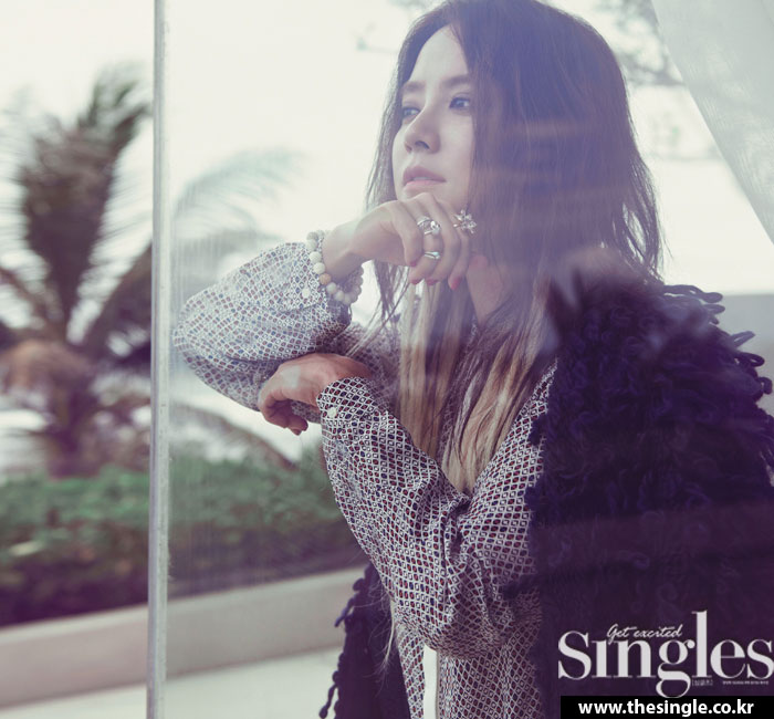 Song Ji Hyo Singles Magazine
