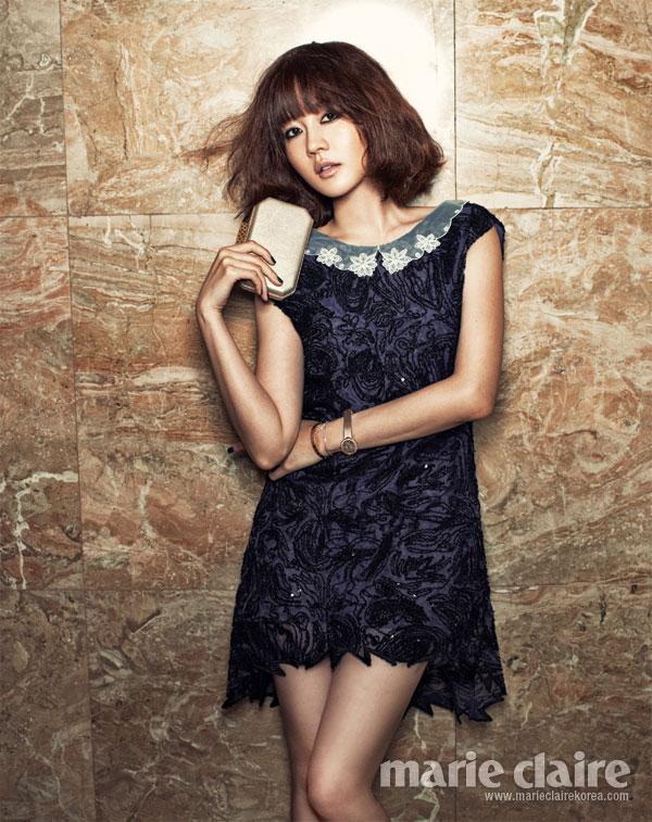 Sung Yuri Marie Claire Magazine