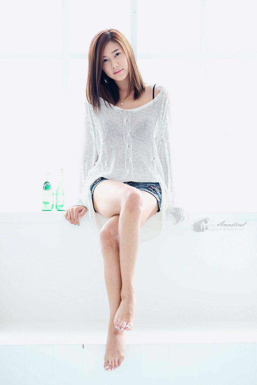 Cute Korean model Kim Ha Yul