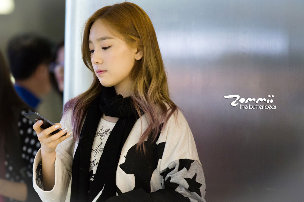 Snsd Taeyeon Korean Incheon Airport