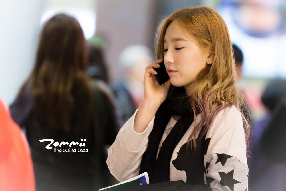 Snsd Taeyeon Korean Incheon Airport
