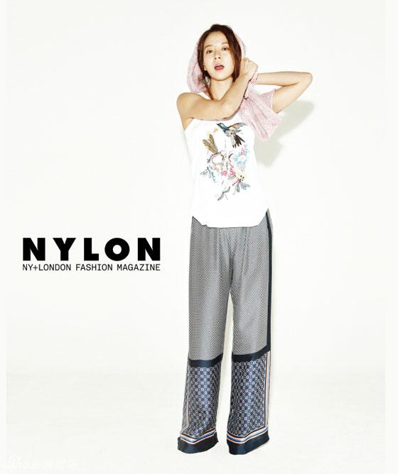 Song Ji Hyo Korean Nylon Magazine