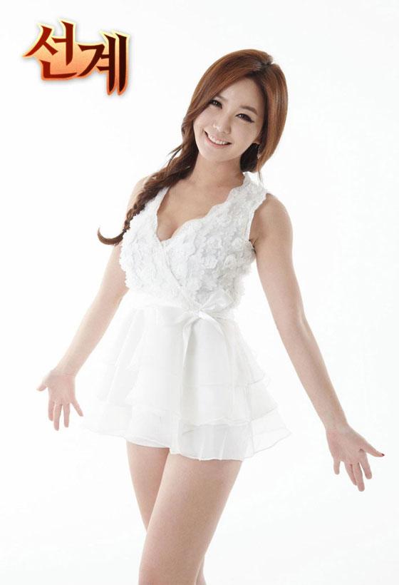 Korean model Kang Yebin