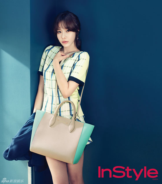Actress Kim Ah Joong Instyle Magazine