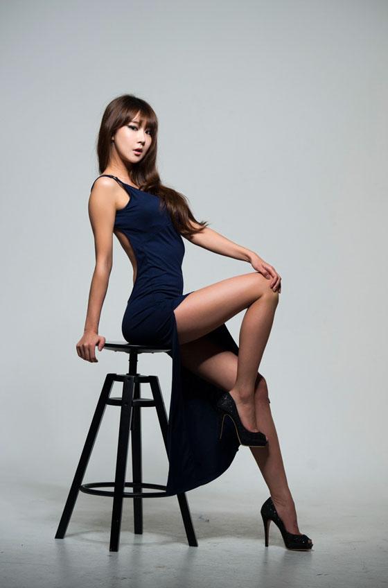 Sexy Korean model Park Hyun Sun