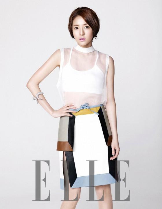2NE1 Dara Elle Magazine