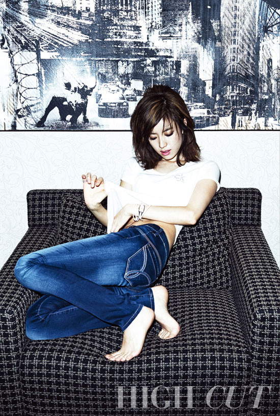 Han Hyo Joo Korean High Cut Magazine