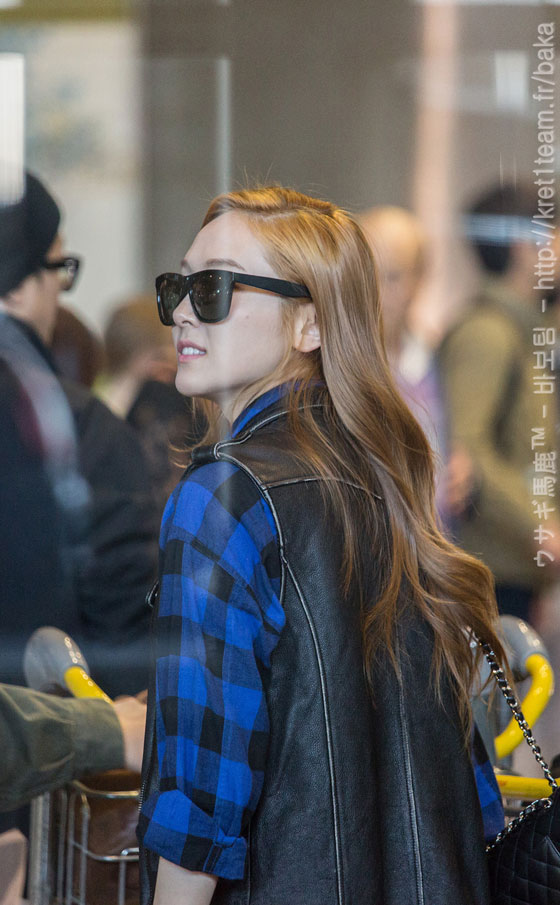 Girls Generation Jessica Paris Airport