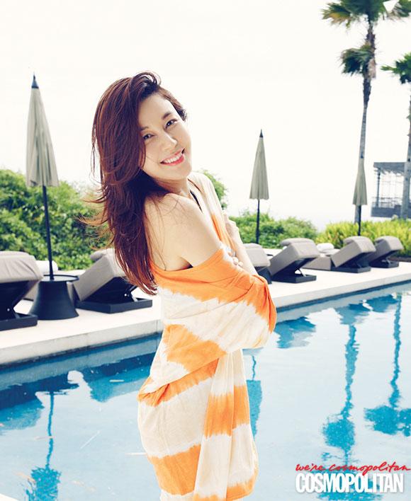 Actress Kim Ha Neul Cosmopolitan Magazine