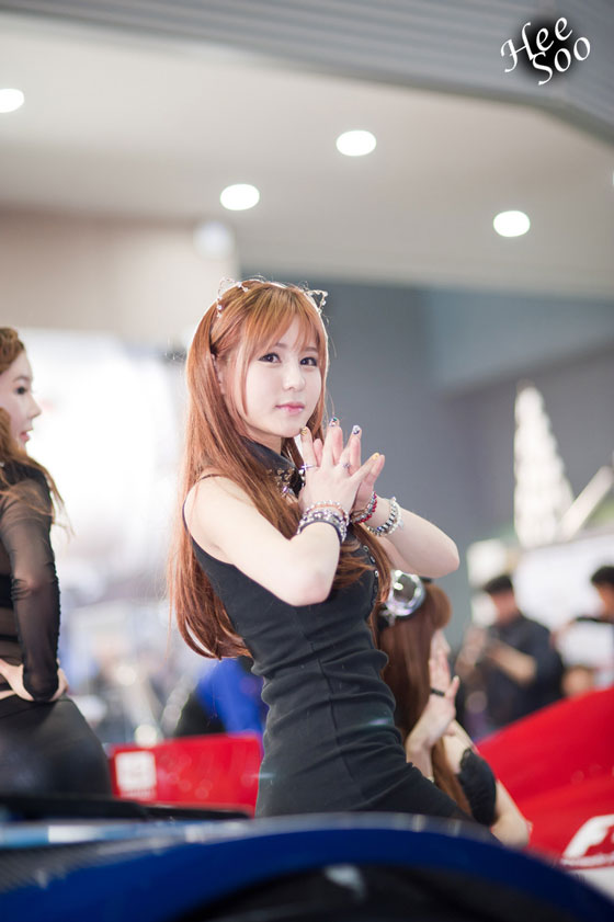 Park Soo Yu Seoul Motor Show 2013
