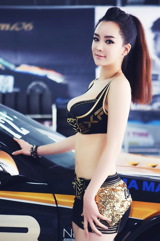 Im Ji Hye CJ Super Race 2013